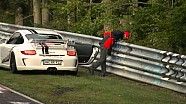 Nurburgring Passenger Pukes on Track