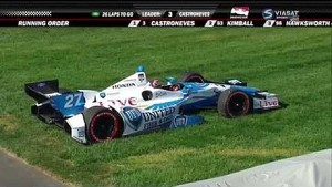 James Hinchcliffe suffers head injuries at the Grand Prix of Indianapolis