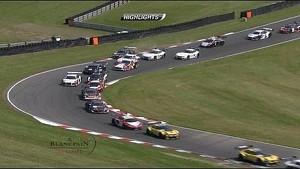 Blancpain Sprint Series - Brands Hatch 2014 - Main Race Short HL