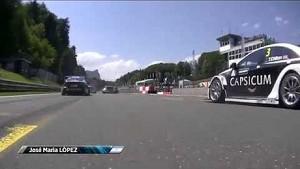 Salzburgring onboard: Start van race 2 met zware crash