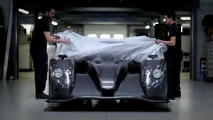 Morgan LM P2 chassis being built - Onroak Automotive: