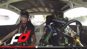 FORMULA DRIFT Atlanta - Leah Takes a Ride with Vaughn Gittin Jr.