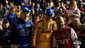 2014 Iowa Corn Indy 300 Podium Interviews