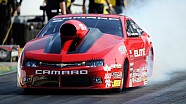 Erica Enders-Stevens makes the best run on Friday in St. Louis