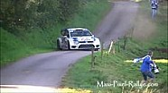 Amazing save by Andreas Mikkelsen at Rallye de France