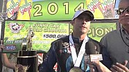 Matt Hagan wins the 2014 Funny Car World Championship