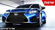 2016 Lexus GS F, BMW M4 Iconic Lights, Mercede-Benz F 015 Concept - Fast Lane Daily