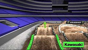 Track Map: AMA Supercross round 7 in Arlington, Texas