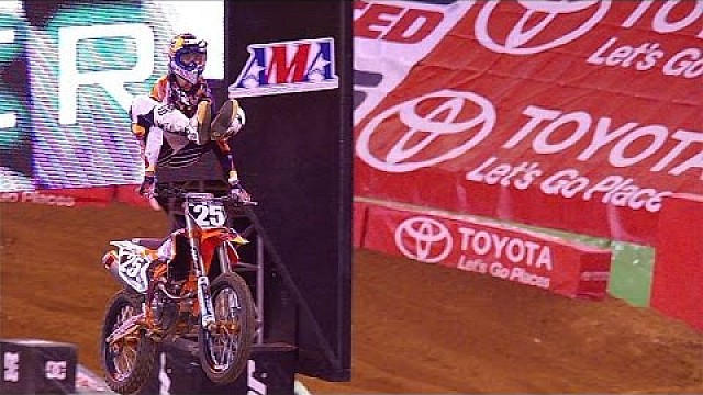 2015 AMA Supercross 250 SX East Coast highlights from Arlington