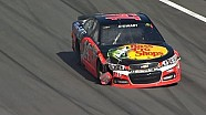 Tony Stewart, Matt Kenseth hit outside wall hard - Daytona 500