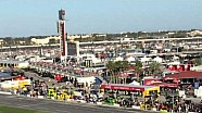 2015 Daytona 500 - Ultimas vueltas con vista desde las gradas