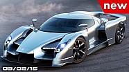 Koenigsegg regera, Lexus LF-SA, Mercedes AMG GT3 - Fast Lane Daily
