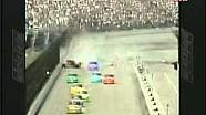 Choque de Arie Luyendyk 1998 Indianapolis IROC