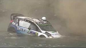 Ott Tanak crash - Rally Mexico 2015