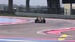 Champion drivers coach guests in F1 race cars, COTA