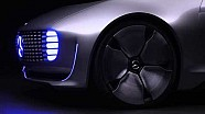 Mercedes-Benz F 015 Luxury in Motion​​ Self-driving car