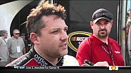 Tony Stewart funny post-race interview Talladega 2012