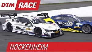 Crash Involving Martin Tomczyk, Gary Paffett and Lucas Auer - Race 1 - DTM Hockenheim 2015