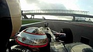 First lap on the Circuit of America - On board with Jerome d'Ambrosio