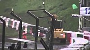 Footage of the Jules Bianchi crash in Suzuka Japan 2014