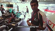 Karun Chandhok Garage Tour - Le Mans 2015