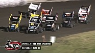 Highlights: World of Outlaws Sprint Cars Dakota State Fair Speedway June 20th, 2015