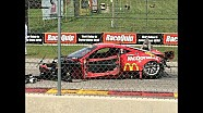 Ferrari 458 accidente de locura en Road America 2015