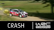 Rally de Polonia 2015: accidente de Neuville