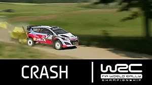 Rally Poland 2015: CRASH Neuville