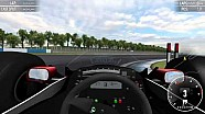 Simraceway gameplay - McLaren MP4/4 at Donington