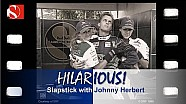 Sauber F1's slapstick with Johnny Herbert