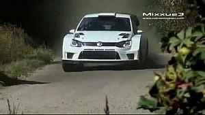 Тесты прототипа Volkswagen Polo R WRC 2017