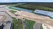 Assen MXGP construcción de pista Holanda