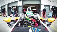 Les derniers essais à Donington en Formule E