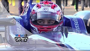 George Russell y Arjun Maini - Futuras Estrellas | Mobil 1 The Grid