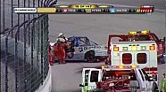 Kyle Busch dumps Ron Hornaday