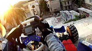 Go Kart Downstairs - GoPro - Greek Vendetta