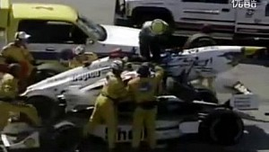 1998年CART艾特哈特湖站(Road America)赫塔、埃里克斯·巴伦事故