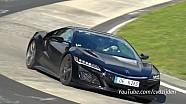 Le son de l'Acura NSX sur Nurburgring
