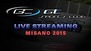 Live: GT Sports Club - Misano 2015 - Qualifying Race