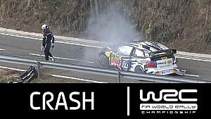 Sebastien Ogier crasht