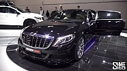 Brabus Maybach 900, AMG GT S 600, C63 S 600 - Stand Tour