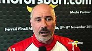 Ferrari World Finals   Top-3 interviews from Trofeo Pirelli North America Race 1 at Mugello