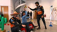 Hulkenberg and Perez in Sky Sports F1's mini Mexican GP challenge