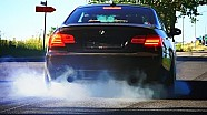 BMW 335i Sound Acceleration Burnout Drift E92 Catless Tire Smoke