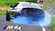 BMW M4 Sound by Capristo Launch Control Acceleration F82 Coupe