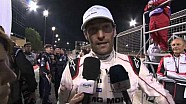 Interview with Mark Webber  after a very hard race  but with a worthy reward