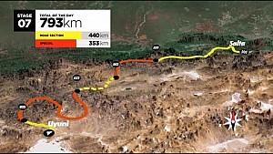Дакар 2016. Маршрут гонки