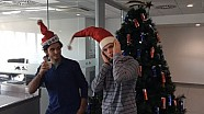 Sainz and Verstappen wish Christmas and New Year!