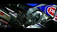 WSBK - La YZF-R1 2016 de l'équipe officielle Pata Yamaha